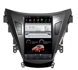 "[ PX6 six-core ] 10.4"" Vertical Screen Android 9 Fast boot Navi Radio for Hyundai Elantra 2011 - 2013"