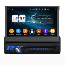 "One Din 7"" Six-core Eight-core Android 9 OEM Navigation Universa Radio"