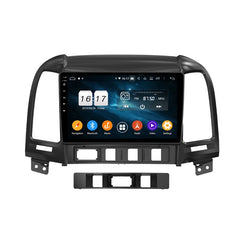 "9"" Octa-Core Android Navigation Radio for Hyundai Santa Fe 2006 - 2012"
