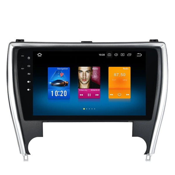 "[ OPEN BOX ] 10"" Octa-core Quad-core Android Navigation Radio for Toyota Camry 2012 - 2017"