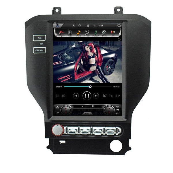 "10.4"" Android 7.1 Fast Boot Vertical Screen Navigation Radio for Ford Mustang 2015 - 2019"