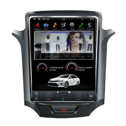 "[ PX6 six-core ] 10.4"" Vertical Screen Android 9.0 Fast boot Navigation Radio for Chevrolet Cruze 2016 - 2019"