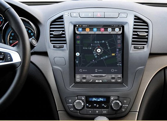 "[ PX6 six-core ] 10.4"" Vertical Screen Android 9.0 Fast boot Navi Radio for Buick Regal 2011 - 2013"