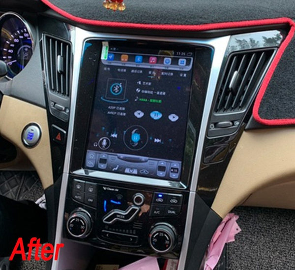 "10.4"" Vertical Screen Android Navigation Radio for Hyundai Sonata 2011 - 2014"