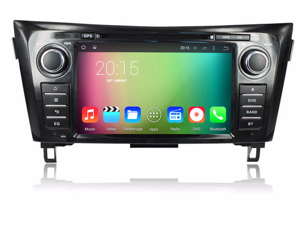 "Open Box 8"" Octa-Core Android 6.0 Navigation Radio for Nissan Rogue 2014 - 2017"