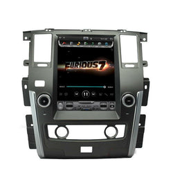 "[ PX6 Six-core ] 13.6"" Vertical Screen Android 9 Fast boot Navigation Radio for Nissan Patrol 2010 - 2018"
