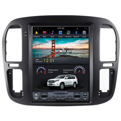 "12.1"" Vertical Screen Android Navi Radio for Toyota Land Cruiser LC100 1999 - 2002"