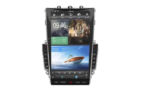 "[ PX6 SIX-CORE ] 'MARK III' 13.6"" ANDROID 9 FAST BOOT VERTICAL SCREEN NAV RADIO FOR INFINITI Q50 Q60"