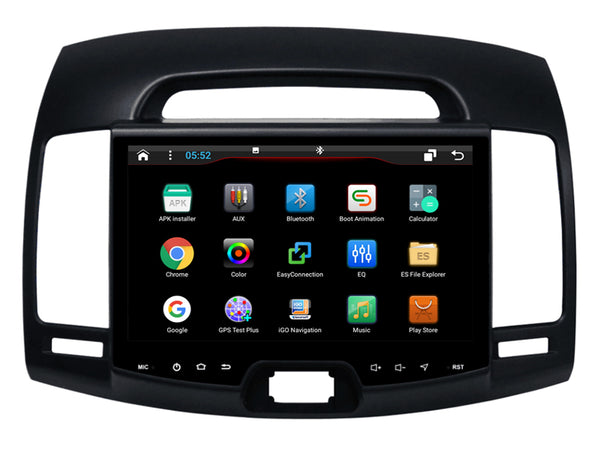 "9"" Octa-Core Android Navigation Radio for Hyundai Elantra 2007 - 2010"