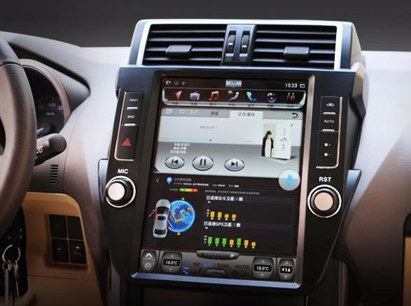 12 1 Quot Android Navigation Radio For Toyota Land Cruiser