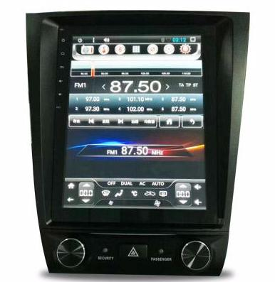 "Open Box 10.4"" Metal Trim Vertical Screen Android Navigation Radio for Lexus GS 300 350 430 450h 460 2005 - 2011"