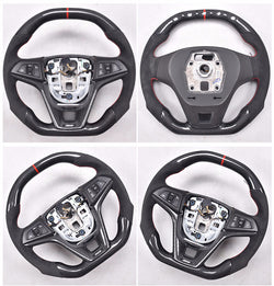Custom-made Carbon fiber Steering Wheel for 2008 - 2015 Chevrolet Cruze Color & Design Customizable