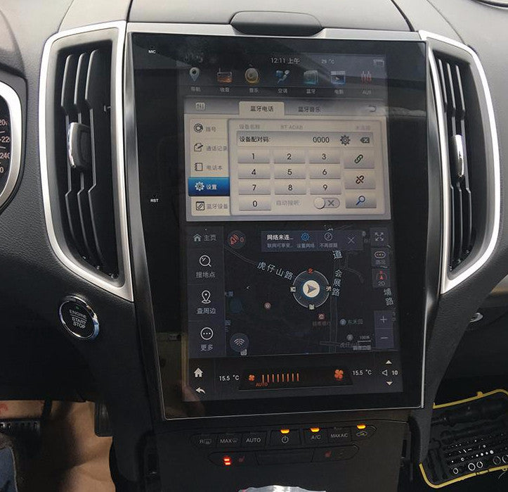 """12.1"""" Android Navigation Radio For Ford Edge 2015"""
