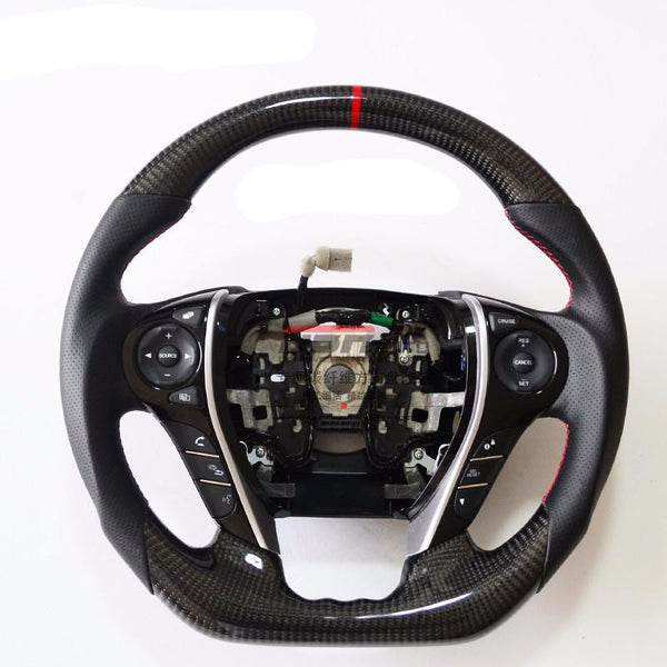 Custom-made Carbon fiber Steering Wheel for 2013 - 2017 Honda Accord Color & Design Customizable