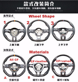 Custom-made Carbon fiber Steering Wheel for 2015 - 2017 Nissan Maxima Color & Design Customizable