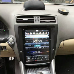 "10.4"" Metal Trim Vertical Screen Android 8.1 Navigation Radio for Lexus IS 250 IS 300 IS 350 2005 - 2012"
