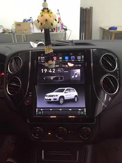 "[ PX6 Six-core ] 10.4"" Vertical Screen Android 9 Fast boot Navigation Radio for VW Volkswagen Tiguan 2010 - 2016"