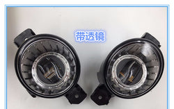 Pair Direct Bolt-on LED Fog Light Assembly Lamp for Nissan Pathfinder 2013 - 2017
