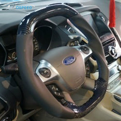 Custom-made Carbon fiber Steering Wheel for 2011 - 2014 Ford Focus Color & Design Customizable