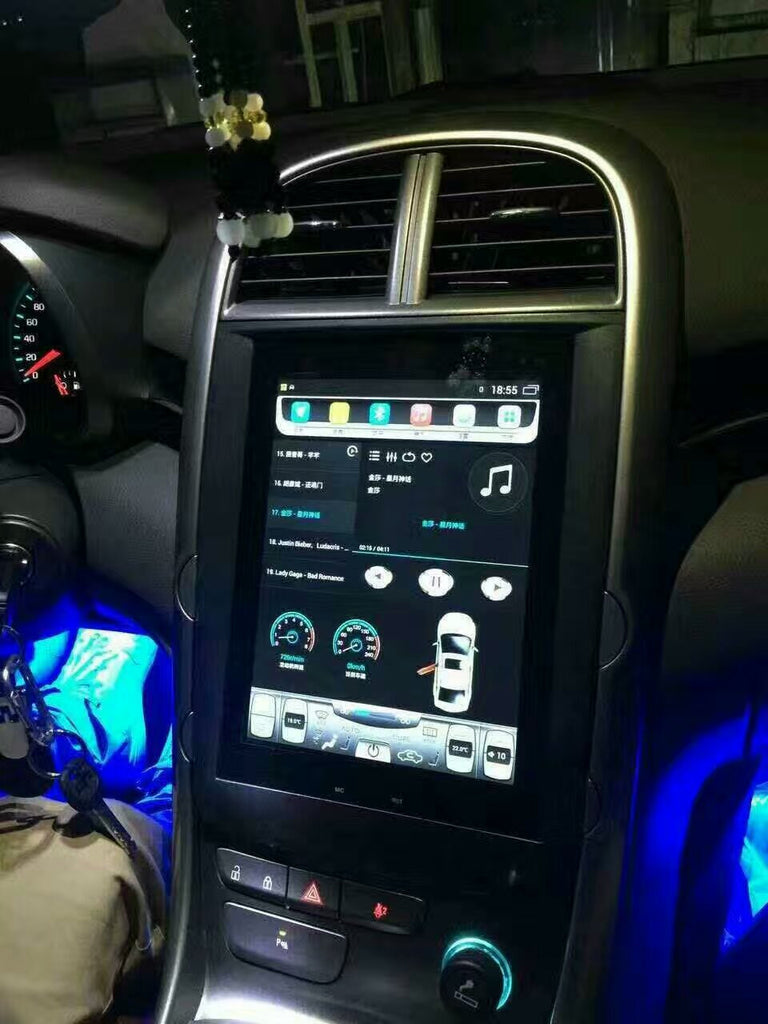 "10.4"" Tesla-style Vertical Screen Android Navigation Radio ..."