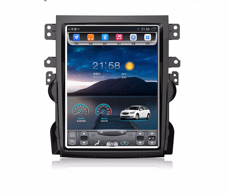 """10.4"""" Tesla-style Vertical Screen Android Navigation Radio ..."""