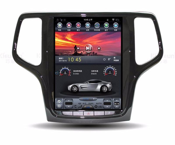 "Open Box 10.4"" Vertical Screen Android Navigation Radio for Jeep Grand Cherokee 2014 - 2018"
