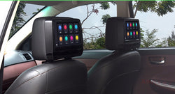 "Open Box 9"" Touch Screen Headrest Car Headrest DVD Player Monitor with 1080p support HDMI Port"