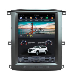 "12.1"" Vertical Screen Android Navi Radio for Toyota Land Cruiser 2003 - 2007"