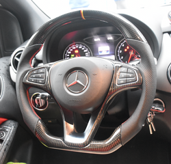 Custom-made Carbon fiber Steering Wheel Available for Almost Any Car Color & Design Customizable