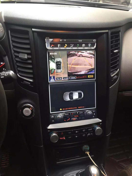 "12.1"" Android Navigation Radio Receiver for Infiniti QX70 FX50 FX35 FX37 2009 - 2019"