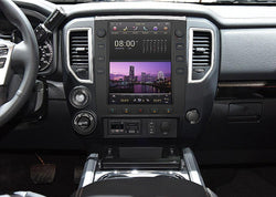 "[ open box ] 12.1"" Android 9.0 Six-core Vertical Screen Navigation Radio for Nissan Titan 2016 - 2019"