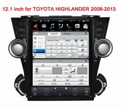 "[PX6 Six-core] 12.1"" Android 9.0 Fast boot Navigation Radio for Toyota Highlander 2009 - 2013"
