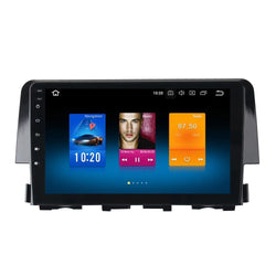 "[ open box] 10.2"" Octa-Core Android Navigation Radio for Honda Civic 2016 - 2019"