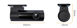 KeeperDog Discreet Intelligent 1080P Full HD WiFi Car DVR Dash Camera Gesture Snap with Android and iPhone Viewing App