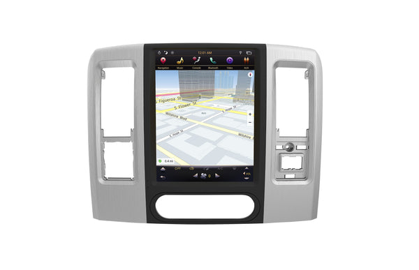 "[PX6 SIX-CORE] Pre-order 12.1"" Android 8.1 Vertical Screen Navi Radio for Dodge Ram 2009 - 2018"