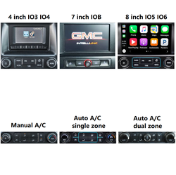 "[PX6 SIX-CORE]12.1"" Android 8.1 Vertical Screen Navigation Radio for Chevrolet Silverado GMC SIERRA 2014 - 2018"