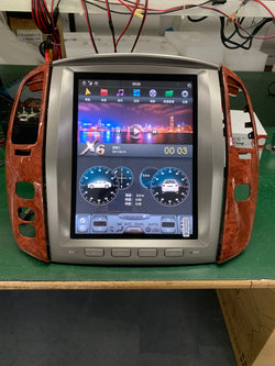 "12.1"" Vertical Screen Android 7.1 Navi Radio for Lexus LX 470 2002 - 2007"