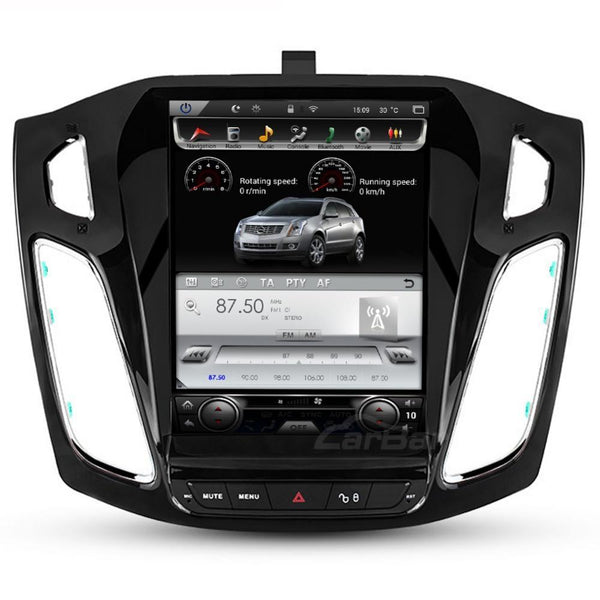 "Open Box 10.4"" Vertical Screen Android Navi Radio for Ford Focus 2011- 2019"