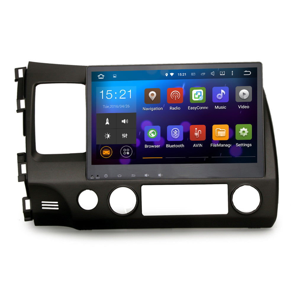 10 2 Quot Quad Core Android Navigation Radio For Honda Civic