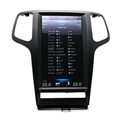 "[open-box]13.3"" Vertical Screen Android Navigation Radio for Jeep Grand Cherokee 2009 - 2013"