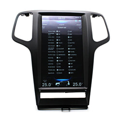 "[ PX6 SIX-CORE ] 13.3"" Vertical Screen Android 8.1 Navigation Radio for Jeep Grand Cherokee 2009 - 2013"