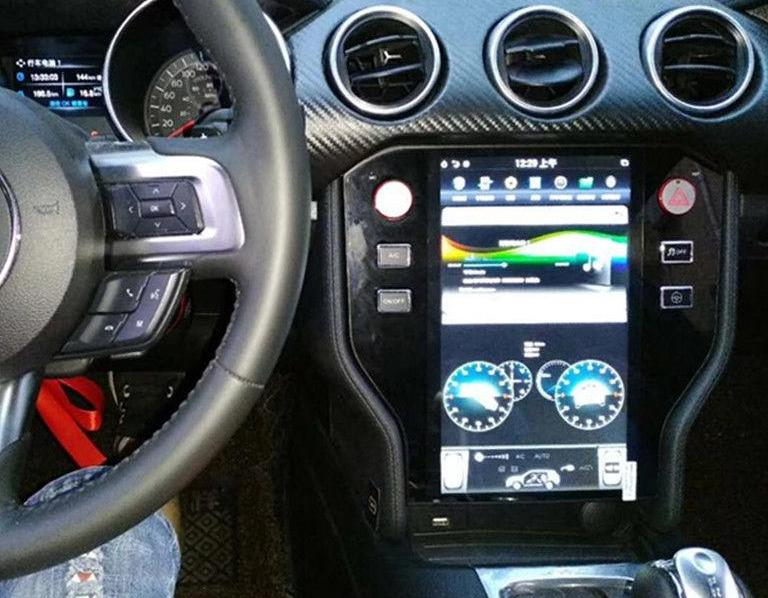 11 8 Quot Vertical Screen Android Radio For Ford Mustang S550