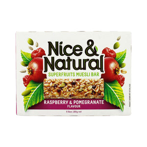 Nice and Natural Chewy Muesli Bars 180g