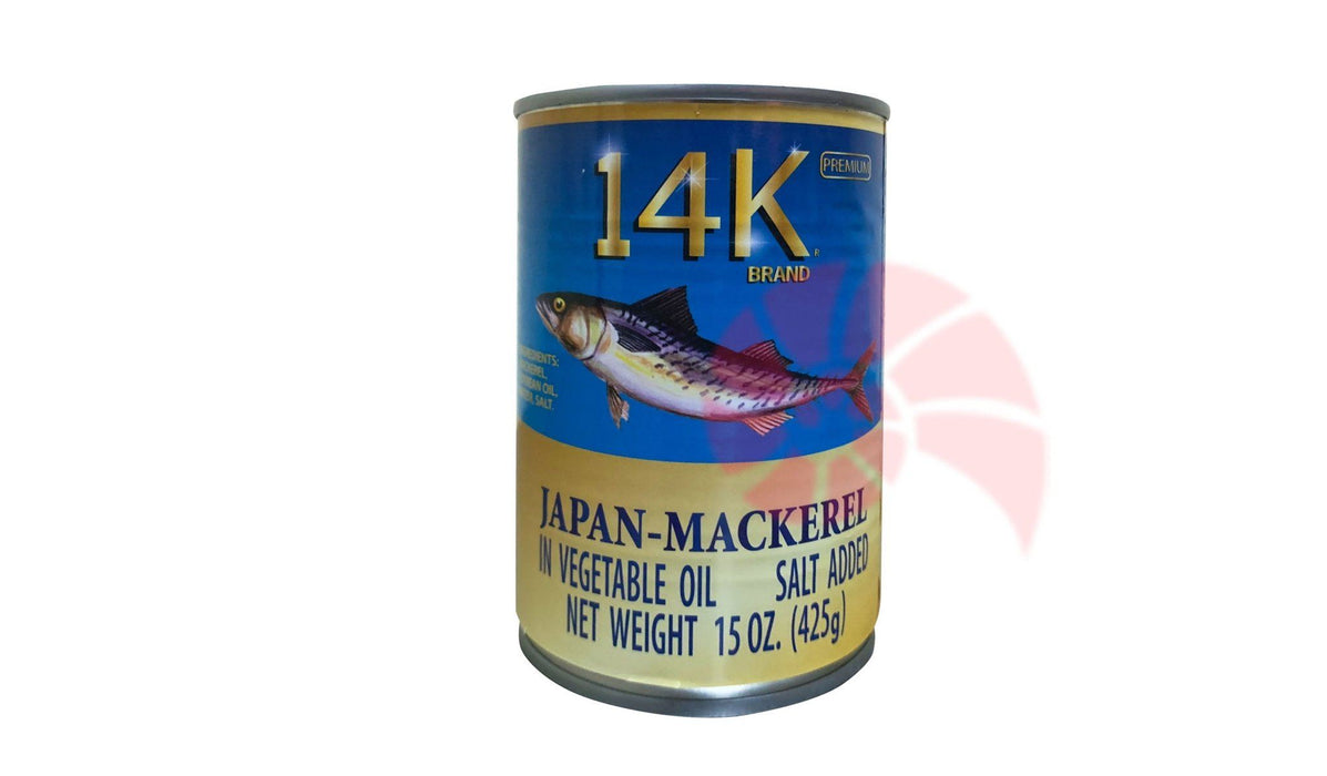 14k Mackerel (Natural oil) 425g - MADPACIFIC