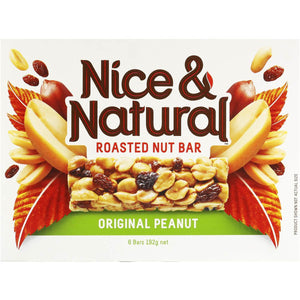 Nice and Natural Roasted Nut Bar