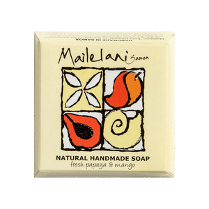Fresh Papaya & Mango Natural Hand Made Soap 110gm / 3.9 oz