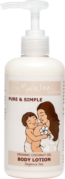 pure and simple body lotion 300ml from Mailelani