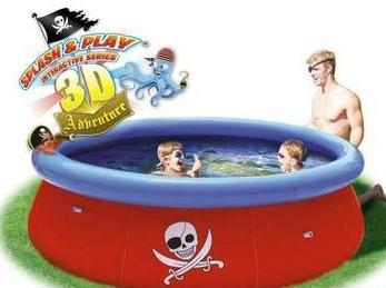 Kids pool - 3D Pirate Adventure Pool