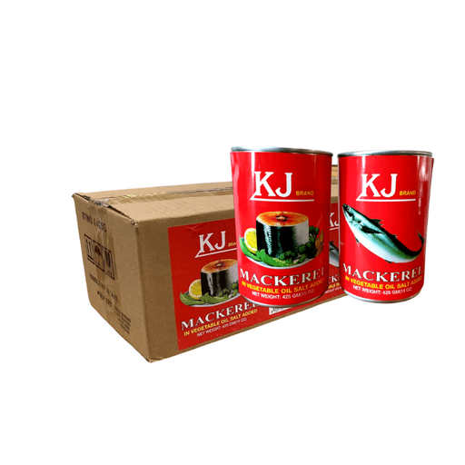KJ Herring Box (Natural Oil) 8x425g - MADPACIFIC