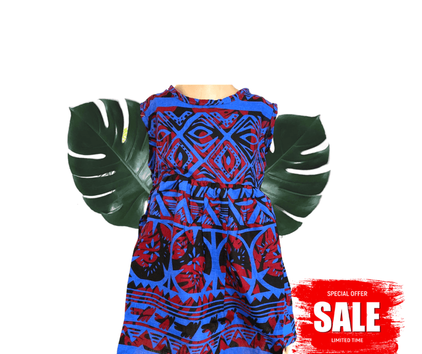 Kids Coloured Elei Dress (Assorted sizes)